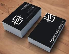 """#613 cho Modern business card design """"TOKYO SEVEN"""" bởi anichurr490"""