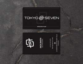 "#592 cho Modern business card design ""TOKYO SEVEN"" bởi maamuun5353"