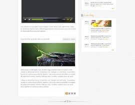 Nro 18 kilpailuun Design a Website Mockup for Earnest J. Ujaama käyttäjältä Pavithranmm