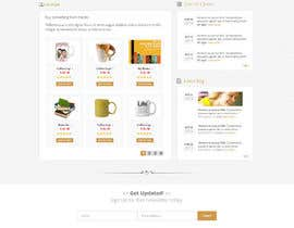 Nro 19 kilpailuun Design a Website Mockup for Earnest J. Ujaama käyttäjältä Pavithranmm