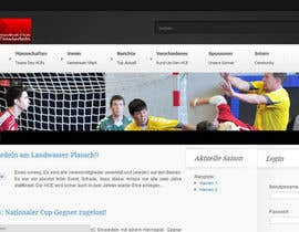 #2 para Logo integration into existing html template for a local sports club (handball) por pralay03