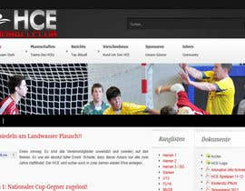 #18 dla Logo integration into existing html template for a local sports club (handball) przez ULTROSMEDIA