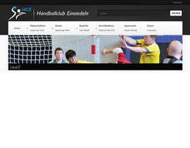 #13 dla Logo integration into existing html template for a local sports club (handball) przez foxxed