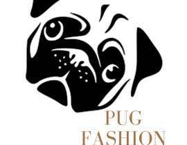 #21 для I need a Pug head as a logo for my fashion brand от FAZLISYAMZAROWI