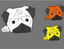 #26 для I need a Pug head as a logo for my fashion brand от abubakernuman2