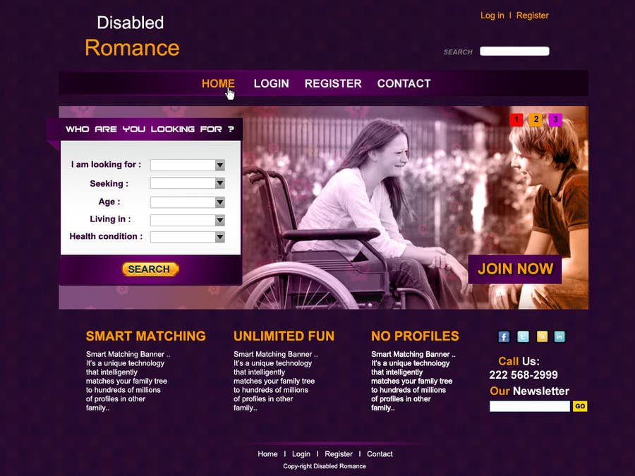 Dating home page
