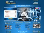 Graphic Design Inscrição do Concurso Nº30 para Website Design for Dating website homepage