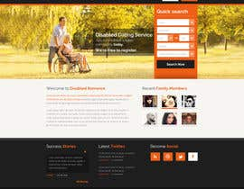 #10 cho Website Design for Dating website homepage bởi osdesigns