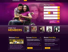 #22 cho Website Design for Dating website homepage bởi osdesigns