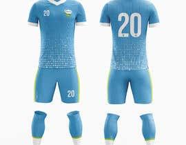 Nro 29 kilpailuun Design me a soccer jersey käyttäjältä kerenkerencreati