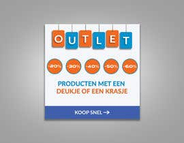 #109 for outlet banner by SEFAT10