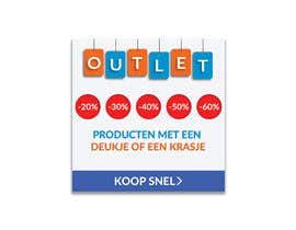 #153 for outlet banner by SEFAT10