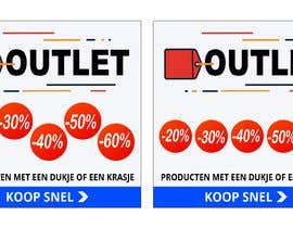 #90 for outlet banner by nabeel1vw