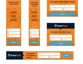 #28 for Hotel search banner ads (7 banners) by dusanmitic3