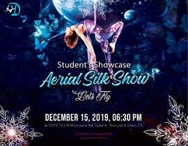 "nº 29 pour Create a poster for event ""Aerial Silk Show"" par nabeel1vw"