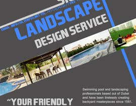 nº 14 pour Advertisement Design for Landscaping Service par kittikann