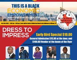 nº 24 pour Support The Boom Presents Black Economic Empowerment Workshop par khan3270
