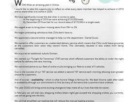 #12 cho Edit and re-design professional christmas letter bởi merantiruna