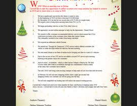 #21 cho Edit and re-design professional christmas letter bởi focusbilal