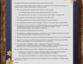 #46 cho Edit and re-design professional christmas letter bởi anjanadutt
