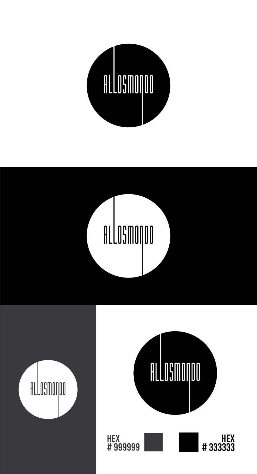 Kilpailutyö #20 kilpailussa Allosmondo  logo