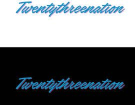 Rakibul0696 tarafından I need 'Twentythreenation ' in these colours I just posted to give yous a idea the logo in black in white is mine but I need it in the aqua blue with pink outlining için no 6
