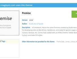 #32 untuk Name What Wordpress Theme This is and What Plugin This Is oleh Talhatlp