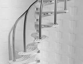 #4 untuk Worlds Coolest 3D Printed Step/Stair (for spiral staircase) Contest oleh Cobot
