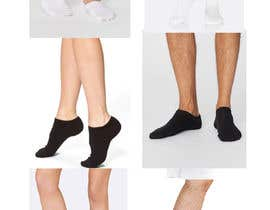 #23 pentru Photo Shop Sock images on to models for ecomerce website de către ezo2016