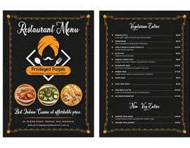 #34 для Need a restaurant Menu designed от aks4hire