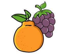 #73 for draw Hanrabong and Grape in vector illutration af alldesign89