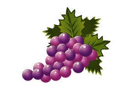 #23 for draw Hanrabong and Grape in vector illutration af Isaravanan