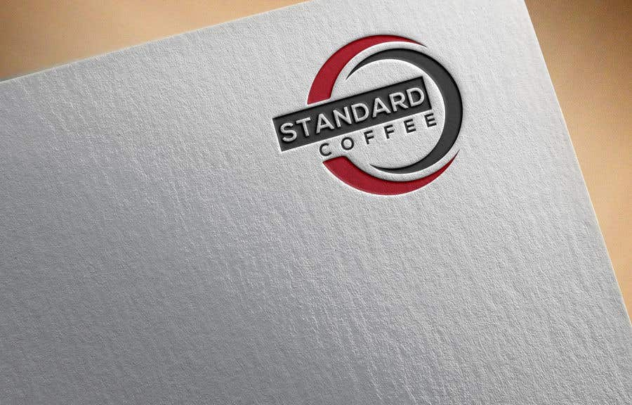Konkurrenceindlæg #895 for Coffee shop logo design 1- Preferably, it should be related  to the name 2- It is simple and attractive 3- He should be attractive in colors such as red, black and white Cafe name (standard coffee)