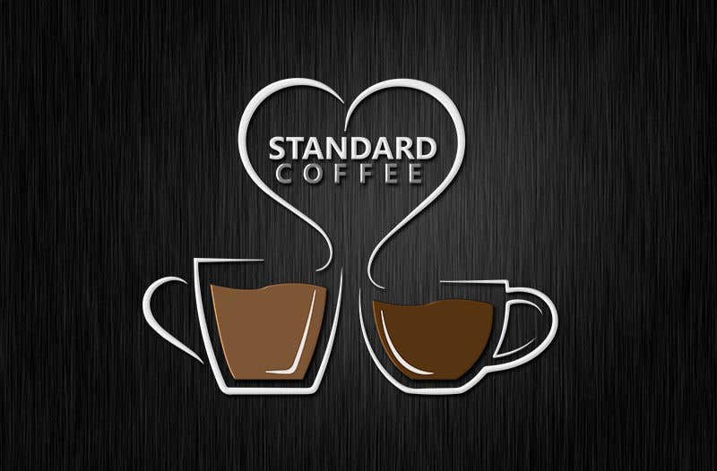 Konkurrenceindlæg #373 for Coffee shop logo design 1- Preferably, it should be related  to the name 2- It is simple and attractive 3- He should be attractive in colors such as red, black and white Cafe name (standard coffee)