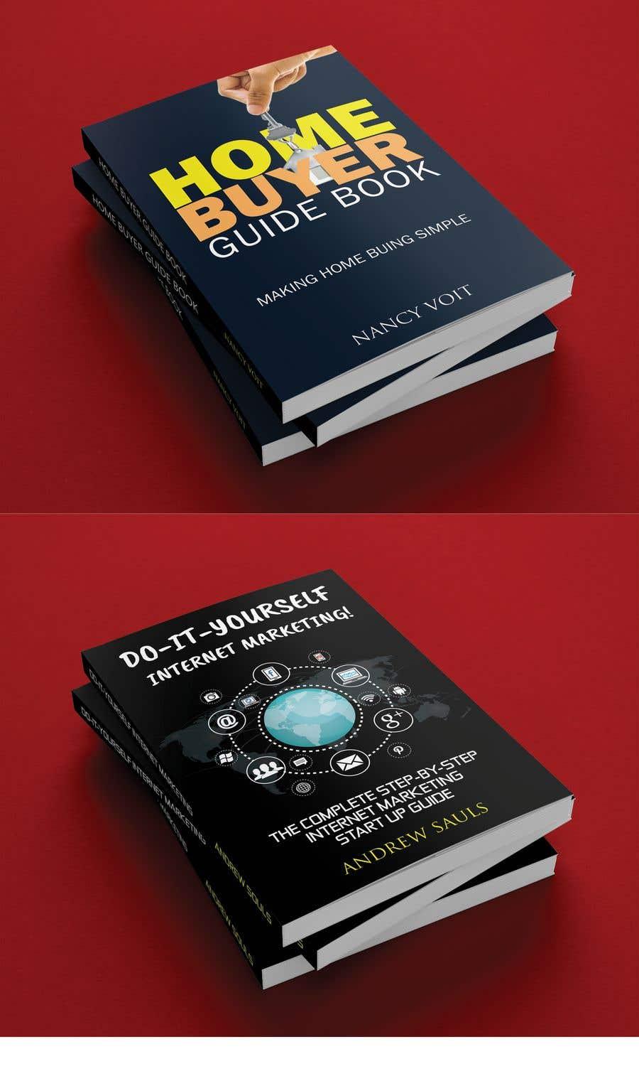 Penyertaan Peraduan #11 untuk Two Separate Ebook Covers