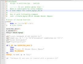 blui88 tarafından I need a bash script that creates a mysql dbase without user intervention için no 1
