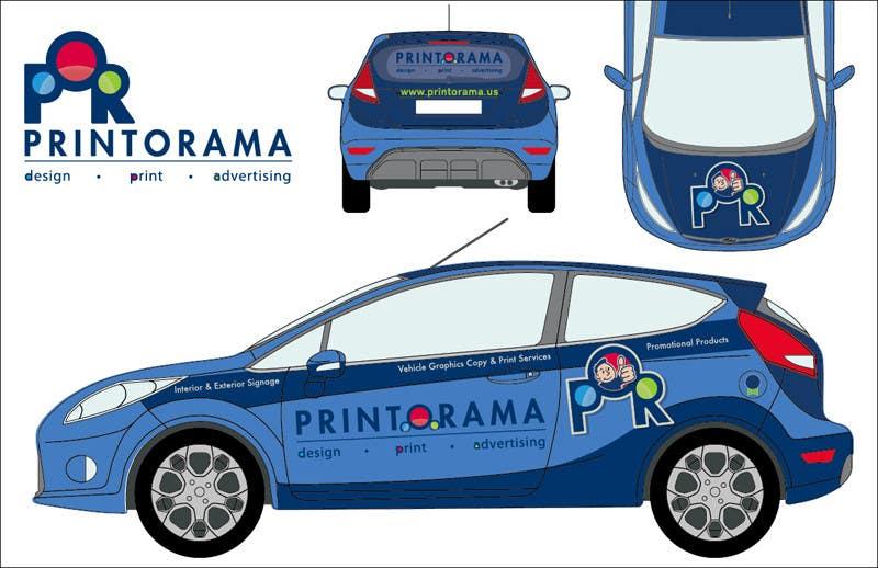 Bài tham dự cuộc thi #199 cho Graphic Design for Vehicle wrap and Logo