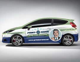 #186 para Graphic Design for Vehicle wrap and Logo por humphreysmartin