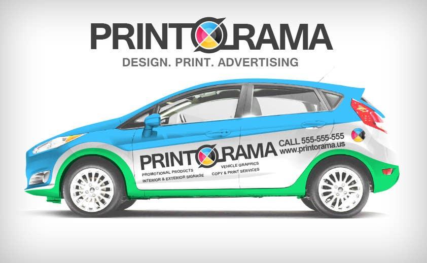Bài tham dự cuộc thi #194 cho Graphic Design for Vehicle wrap and Logo