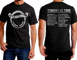 #11 untuk Stiggins World Tour tee Shirt design oleh feramahateasril