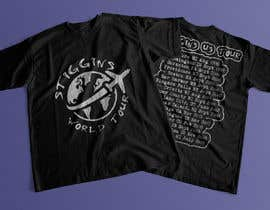 #23 untuk Stiggins World Tour tee Shirt design oleh mdyounus19
