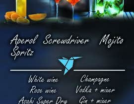 #12 для Build me an attractive stand out Cocktail Menu featuring 3 Cocktails and other drinks as well от ecemozkurt