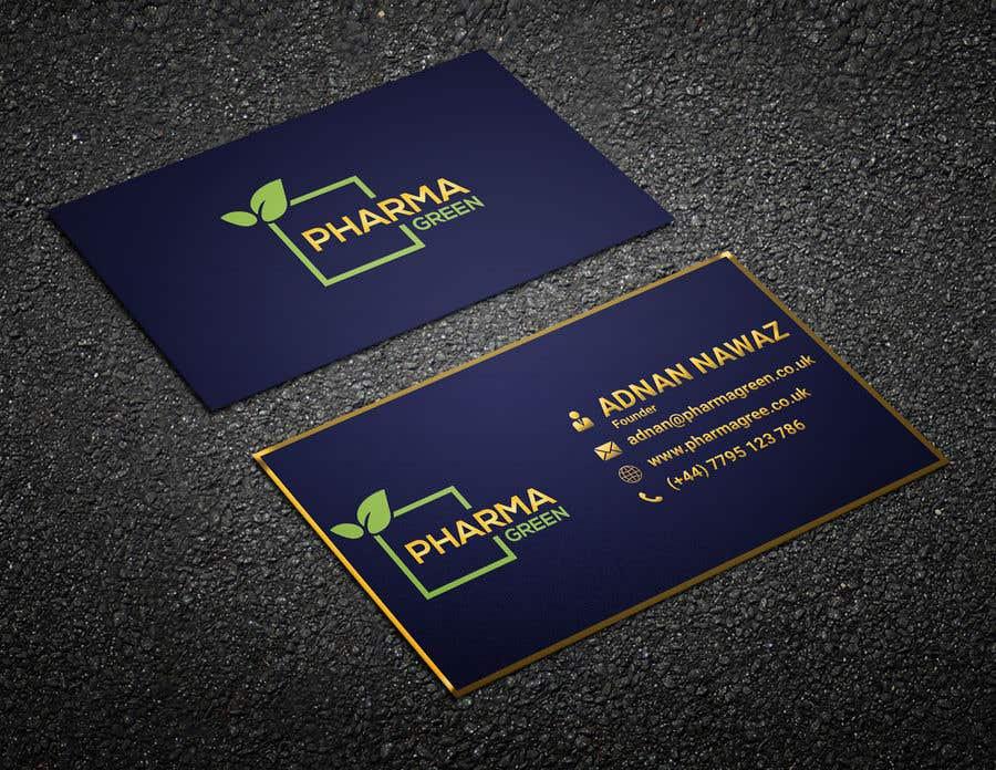 Penyertaan Peraduan #244 untuk Business Card Design 2