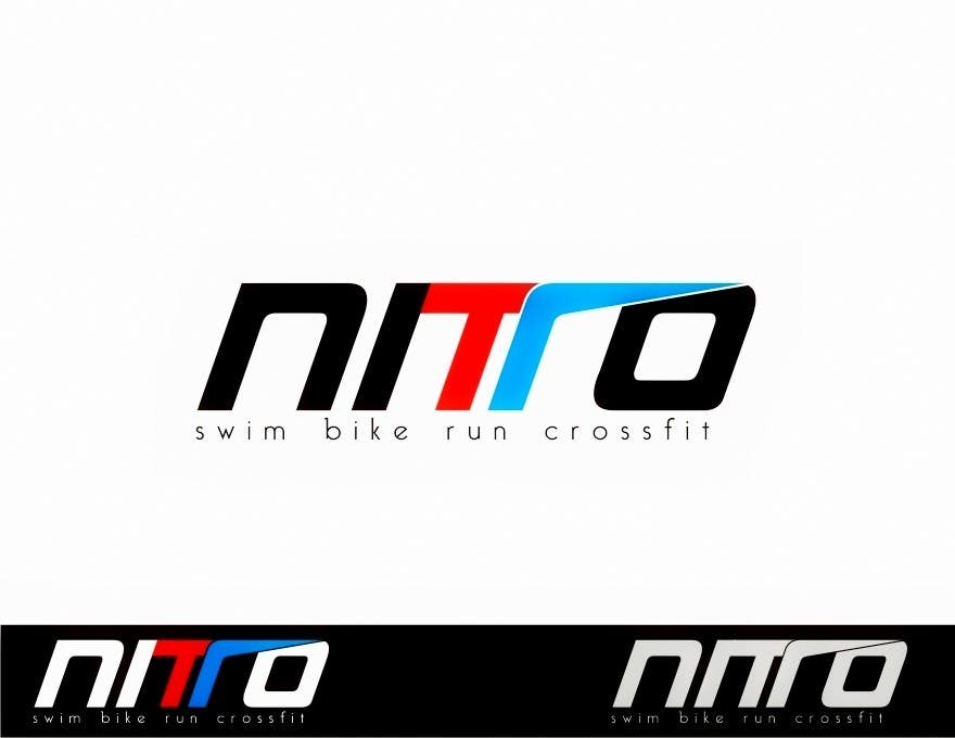 Penyertaan Peraduan #160 untuk Logo Design for swim bike run crossfit brand