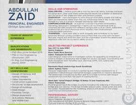 #33 for Professional CV Design (Resume) af rochimbgr