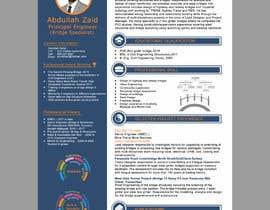 #29 for Professional CV Design (Resume) af abujafarbbd91