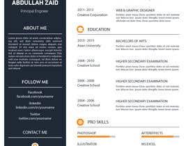 #52 for Professional CV Design (Resume) af KareemAhmed55