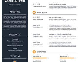 KareemAhmed55 tarafından Professional CV Design (Resume) için no 52