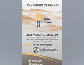 #43 для Flyer and banner design for a delivery company от pdiddy888