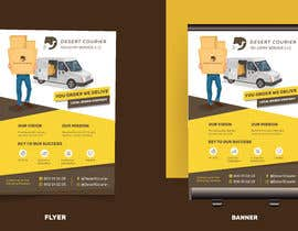 #42 для Flyer and banner design for a delivery company от lunaticscreative